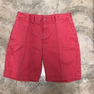 Red Ralph Lauren Polo Shorts Classic Fit 9